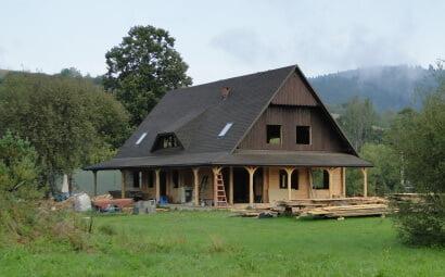 Nowe skrzydło chaty gotowe w stanie surowym!