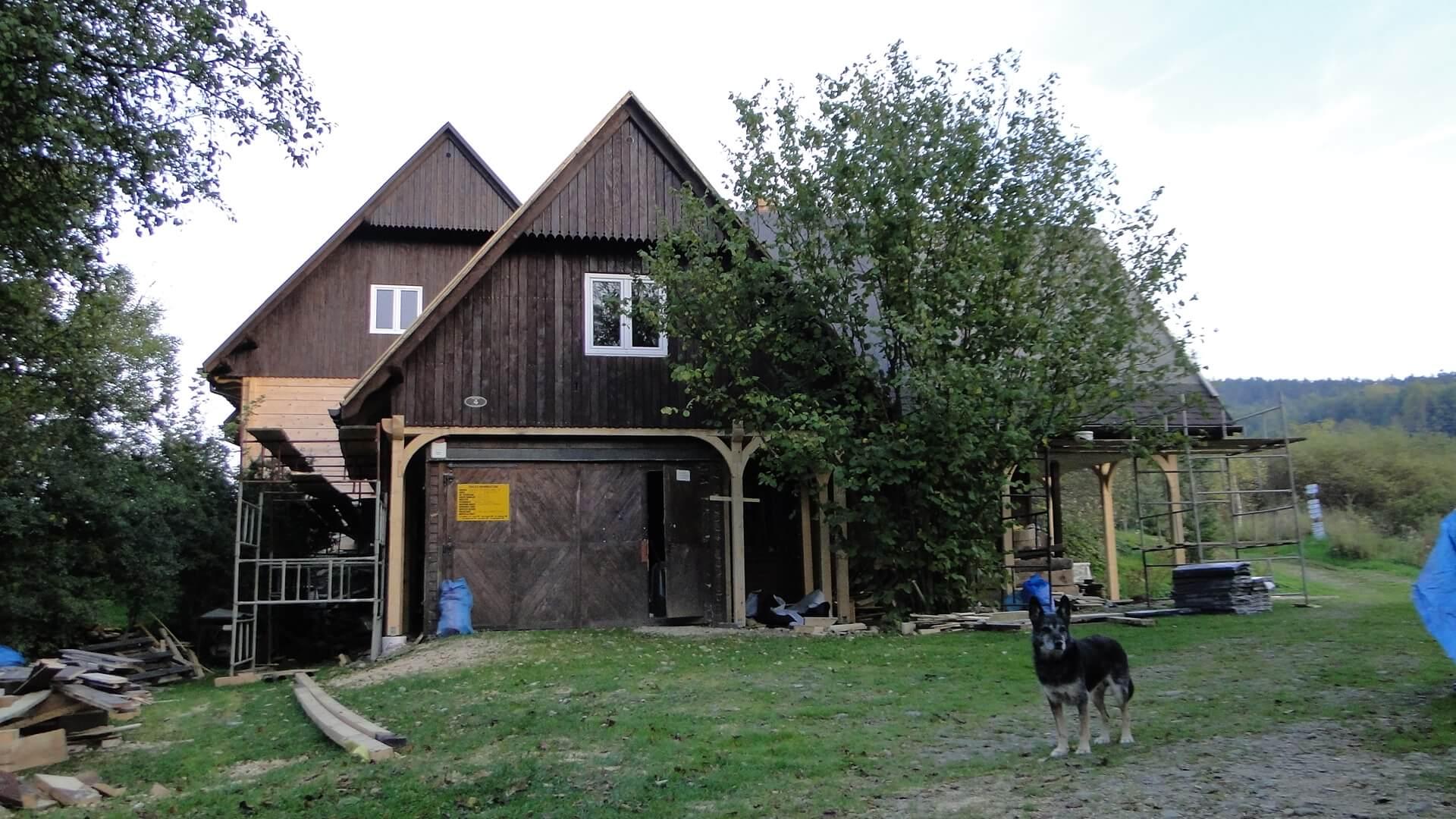 Stare skrzydło naszej chaty odnowione! 2