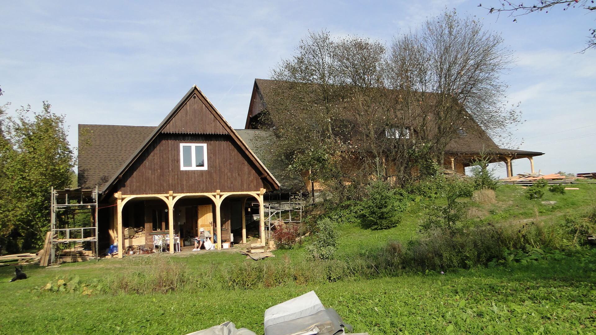 Stare skrzydło naszej chaty odnowione! 1