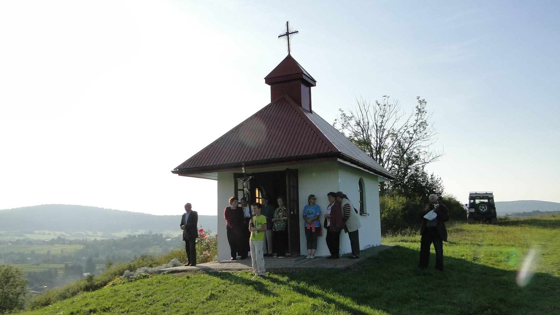 Jaśliskie kapliczki na Łamańcach i na Wierzchgórze 4