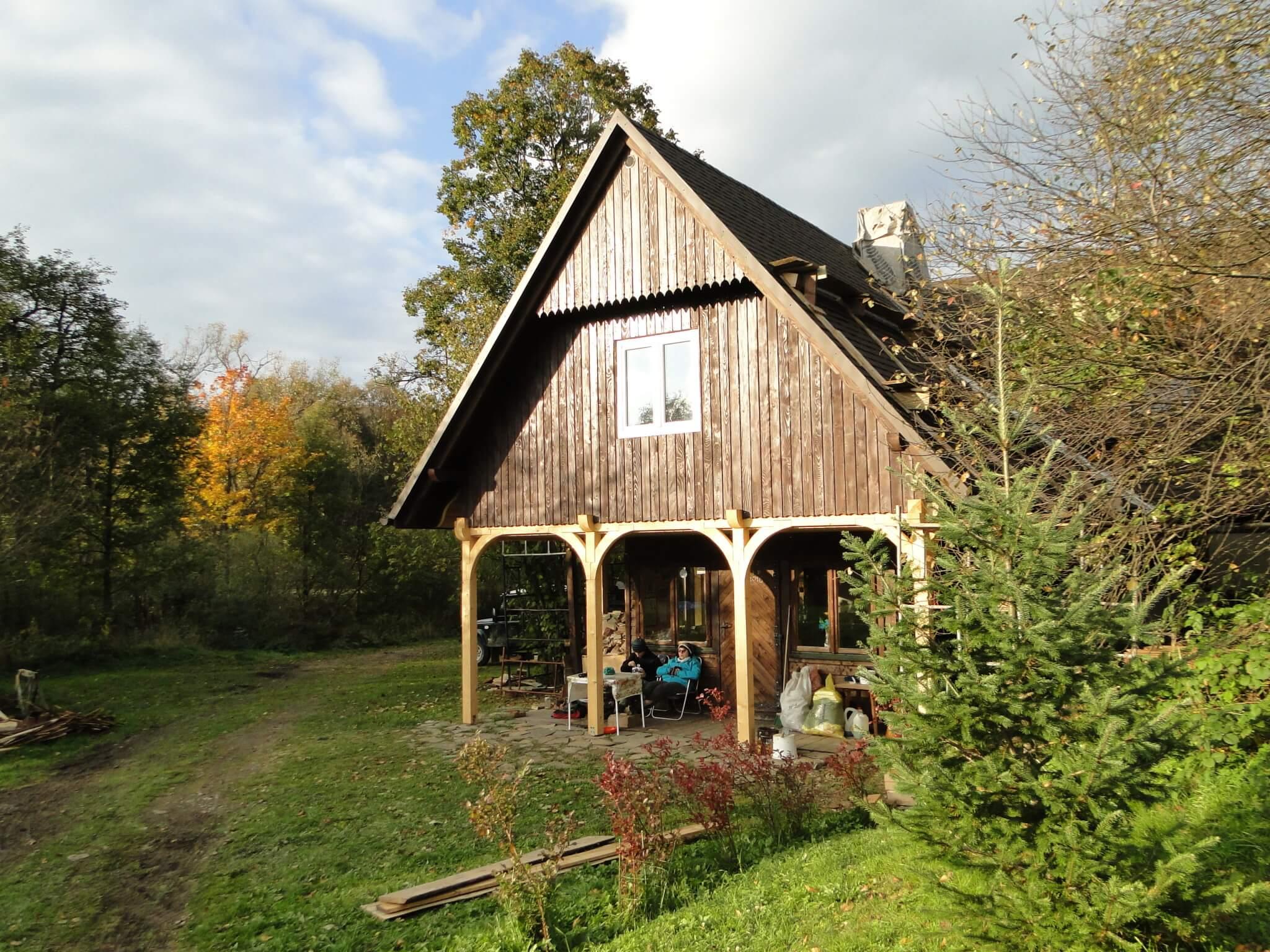 Wokół domu jesienny pejzaż... 4