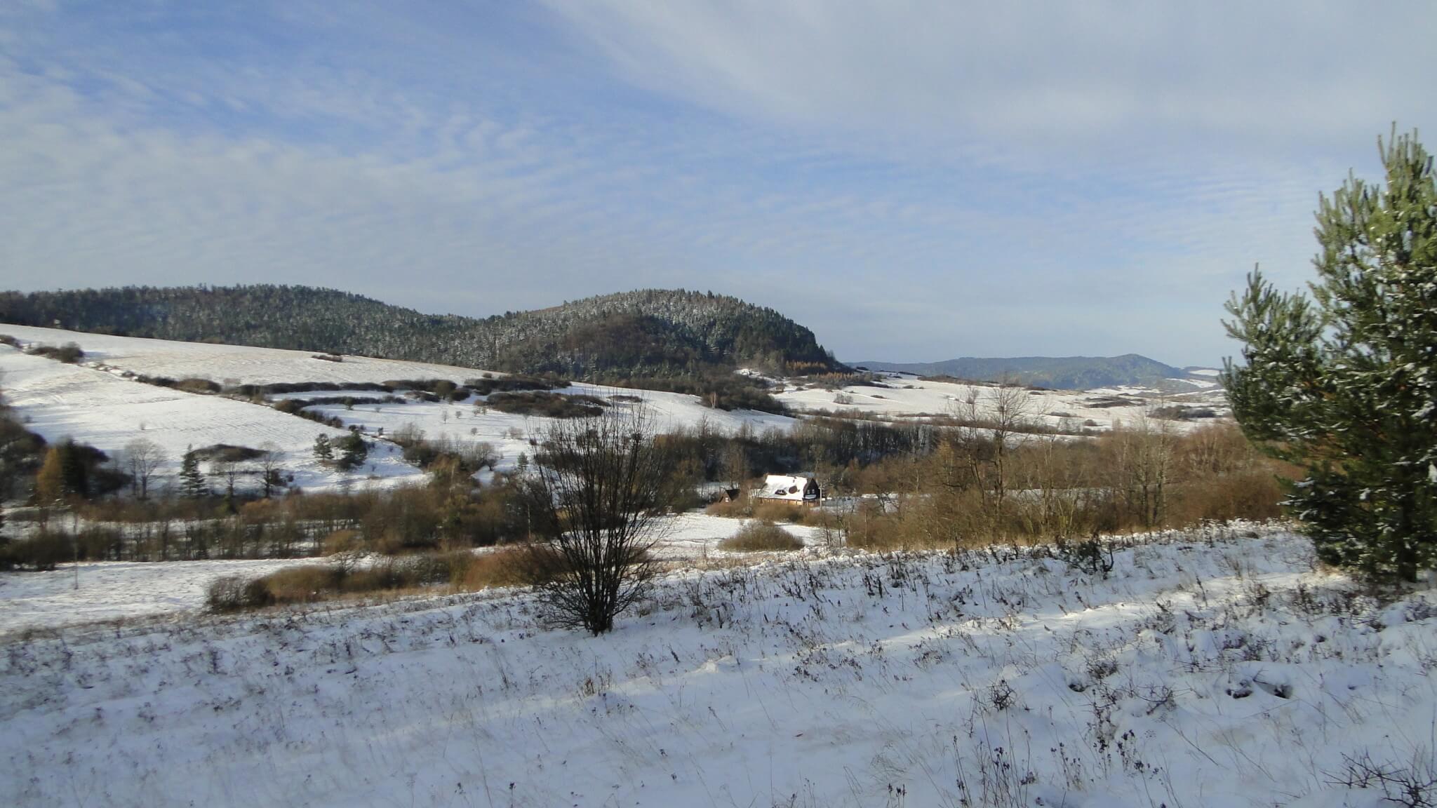 Piękny, zimowy dzień wlistopadzie 3
