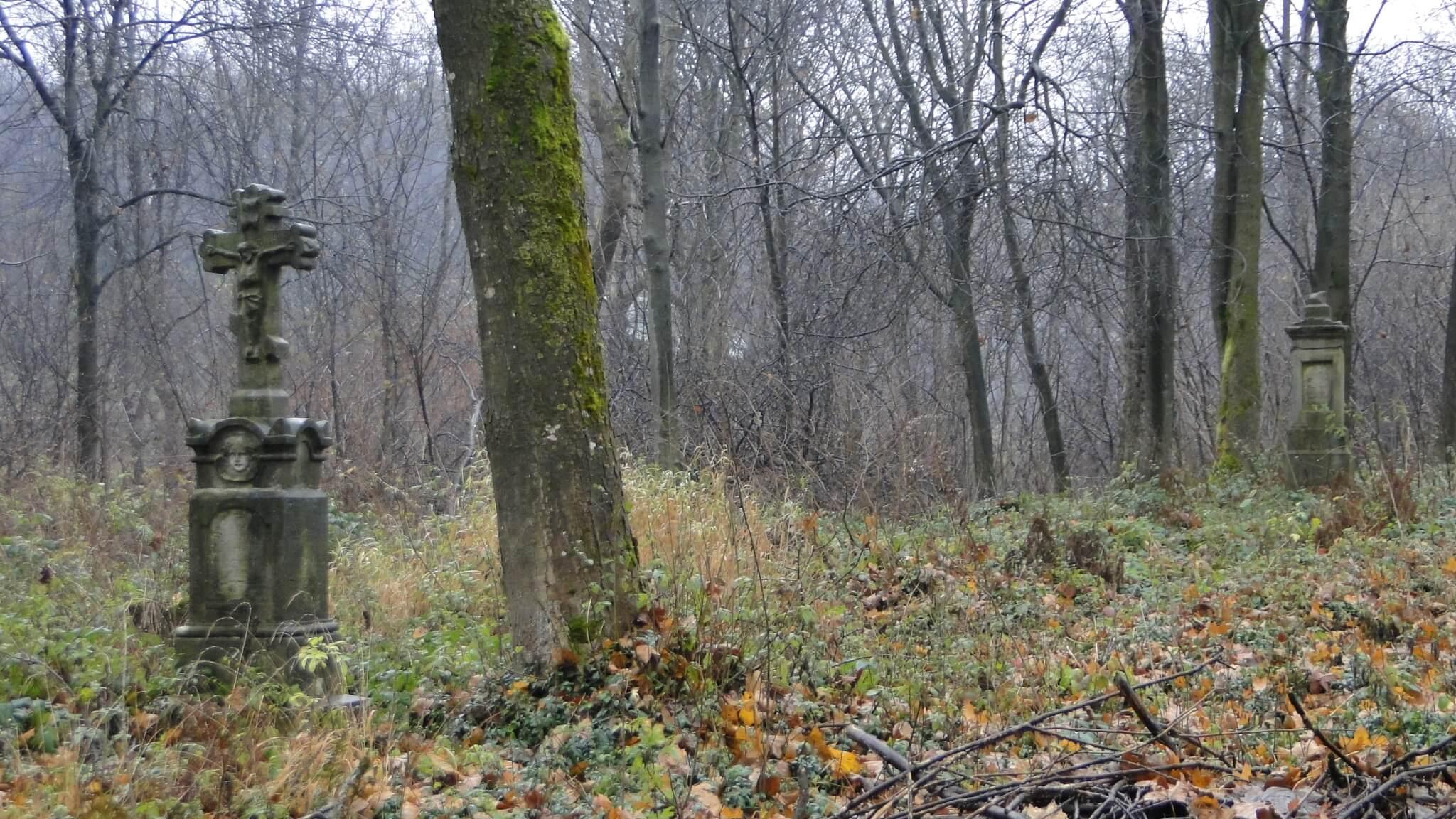 Dzień Zaduszny nastarym, łemkowskim cmentarzu wLipowcu... 2