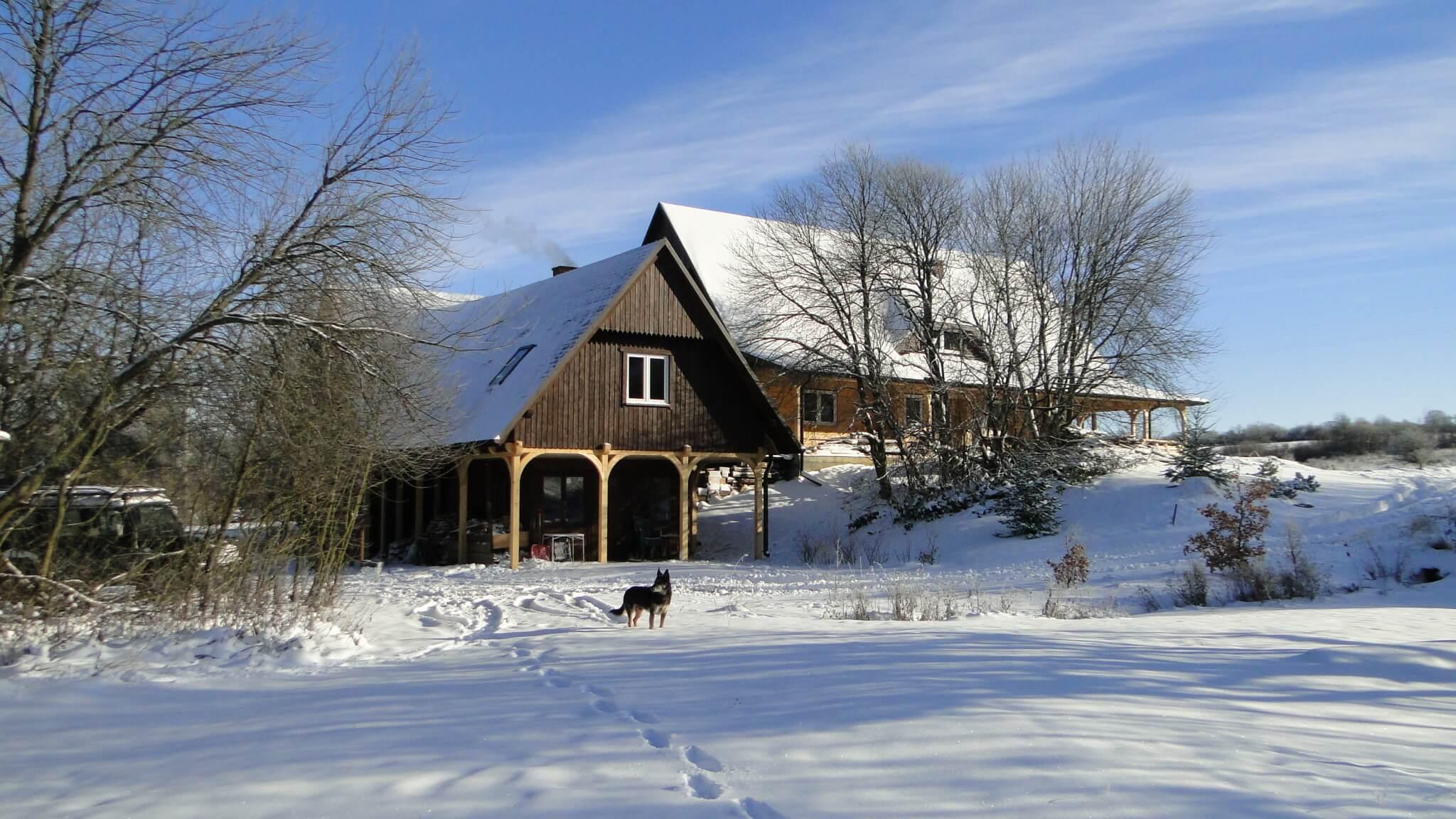 Piękny, zimowy dzień wlistopadzie 6