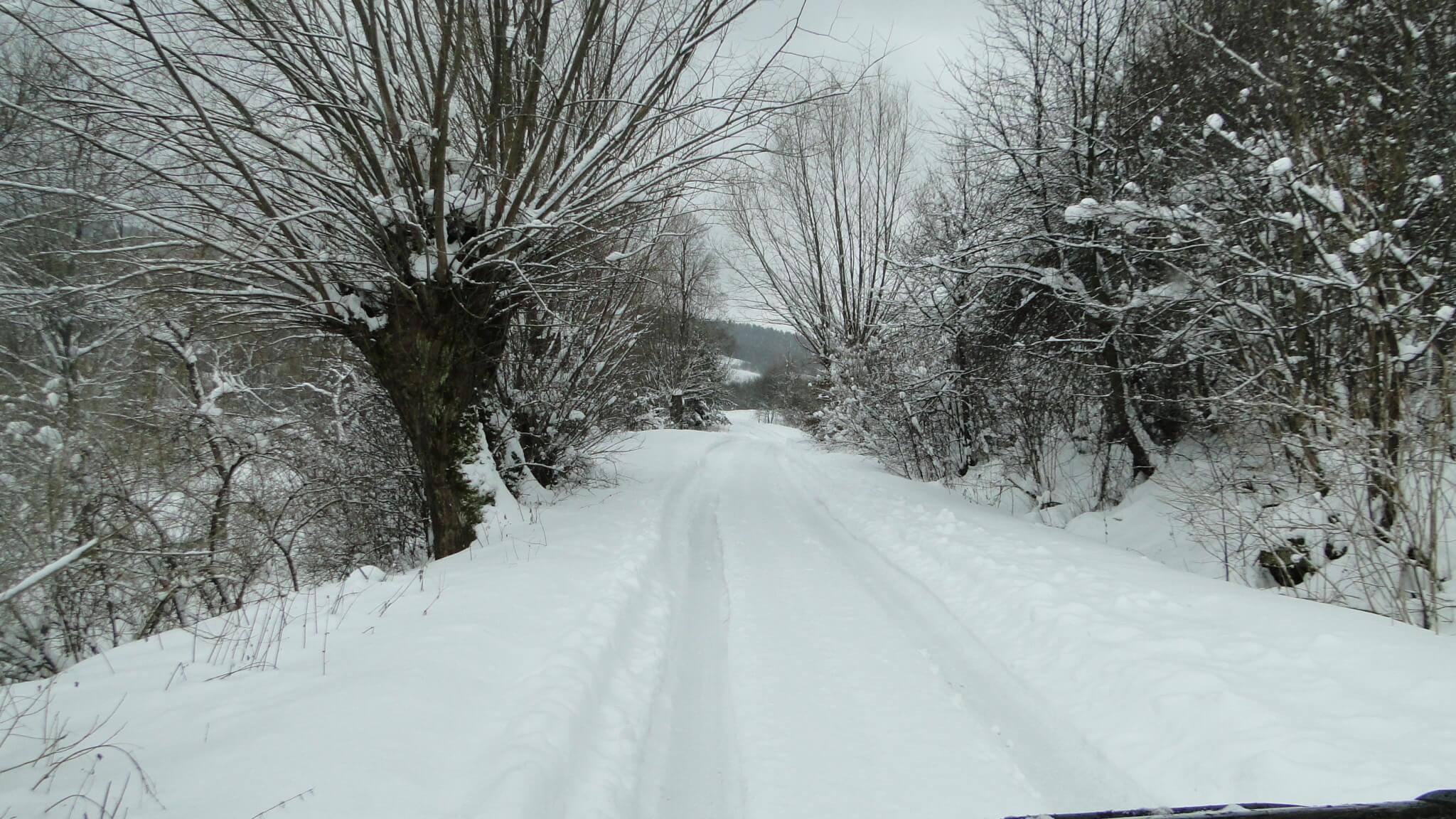 Zima nacałego!