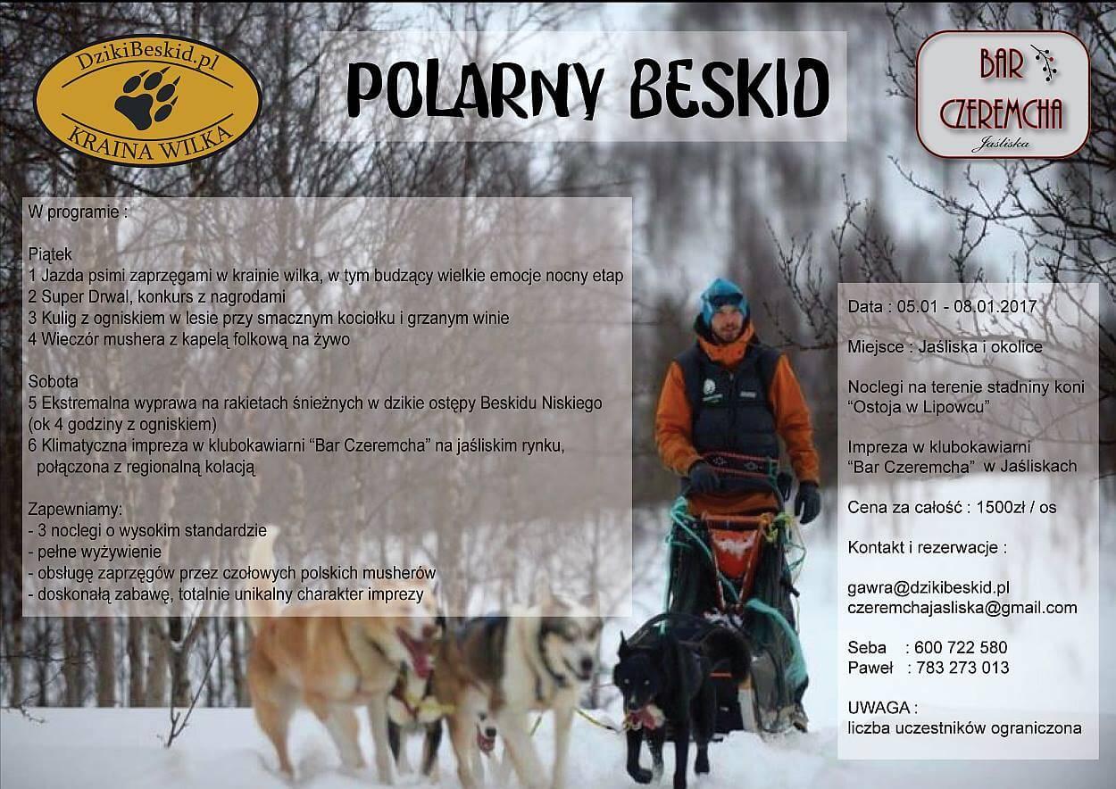 Polarny Beskid czyli psie zaprzęgi wLipowcu