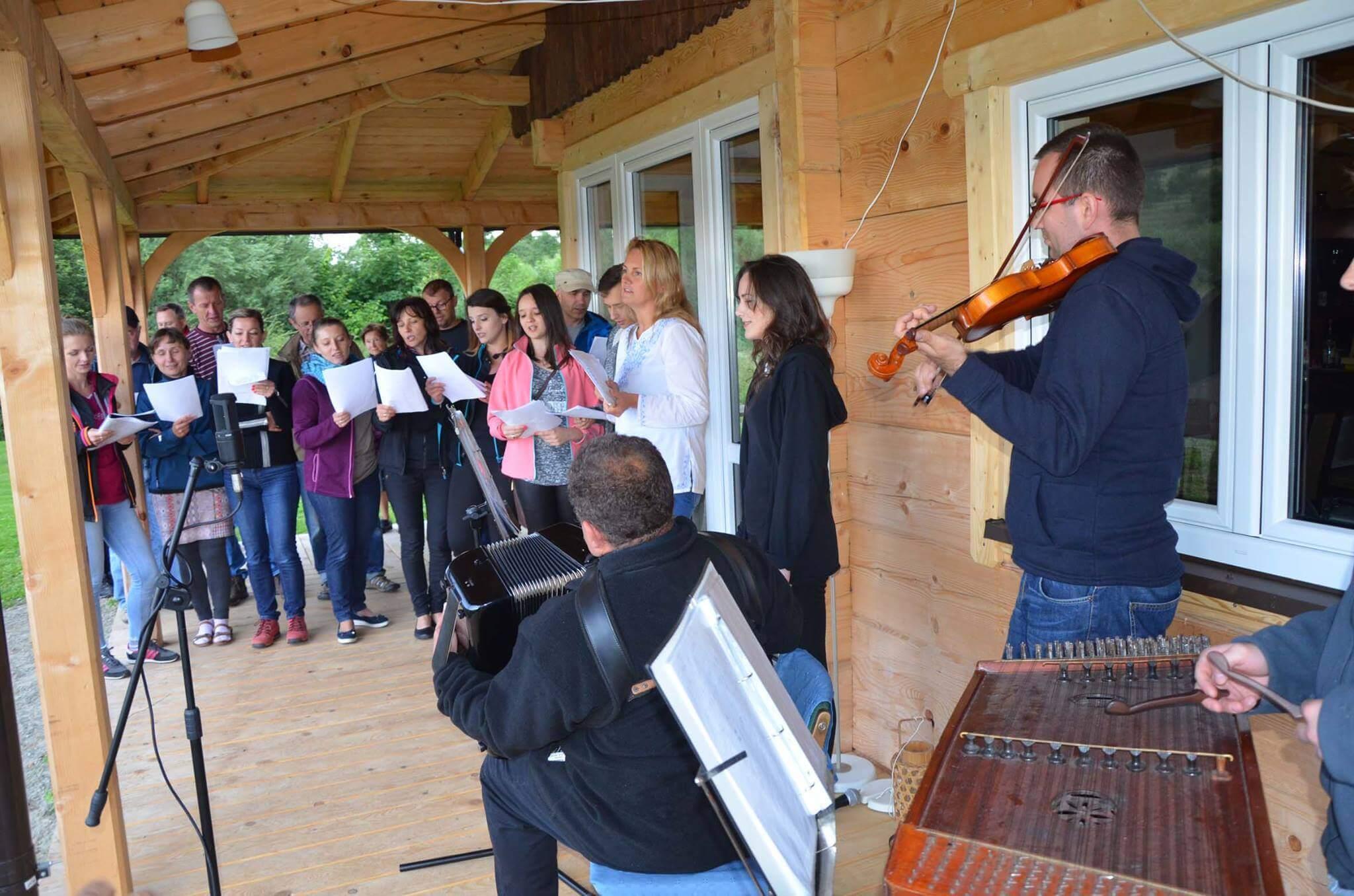 Łemkowskie muzykowanie na dobry początek
