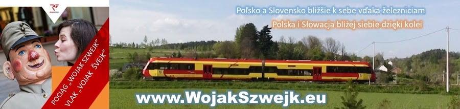 """Wakacyjny pociąg """"Wojak Szwejk"""" zRzeszowa doMedzilaborców!"""