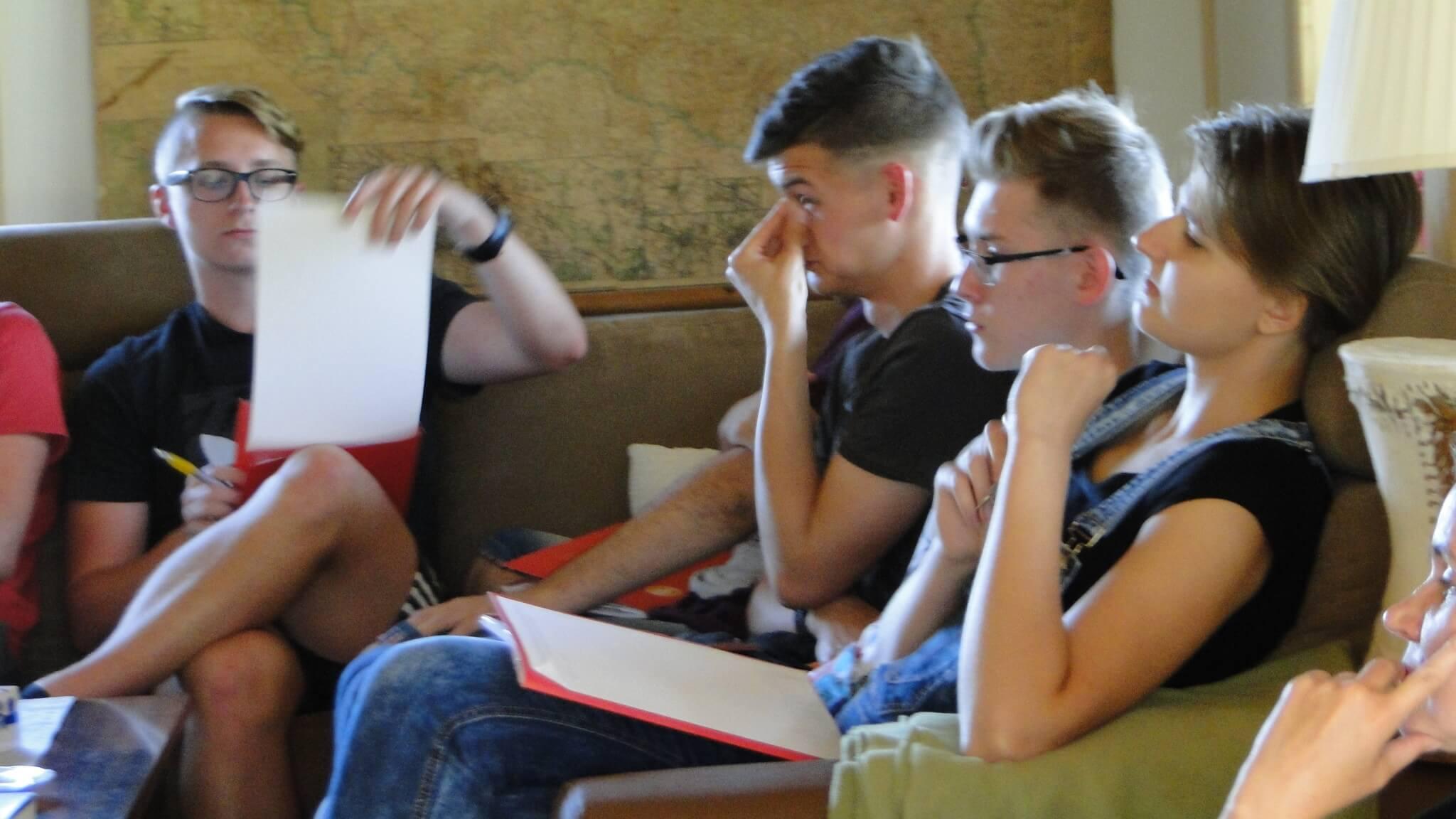 Warsztaty literackie KUL w Gutkowej Kolibie 2