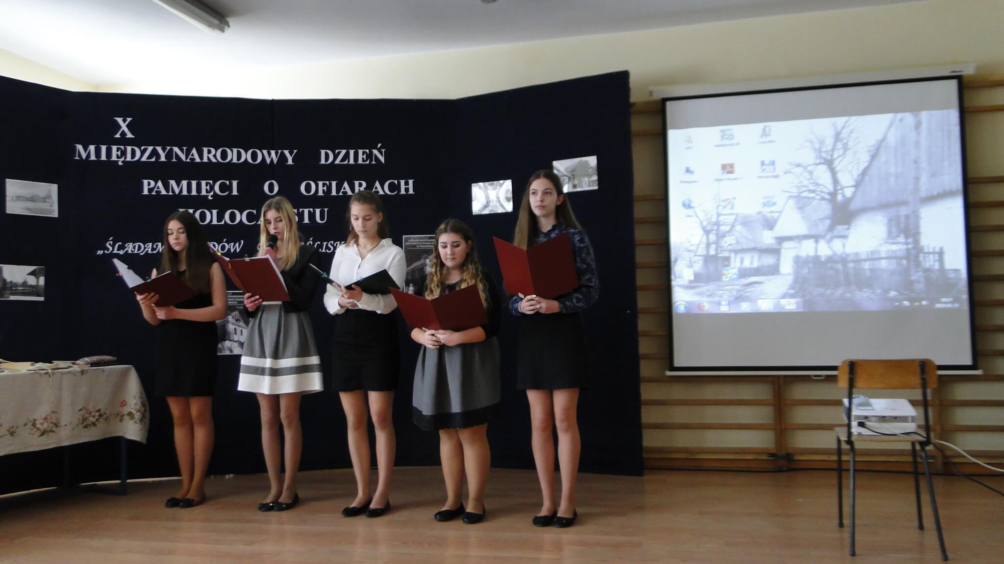 X Międzynarodowy Dzień Pamięci oOfiarach Holokaustu wJaśliskach