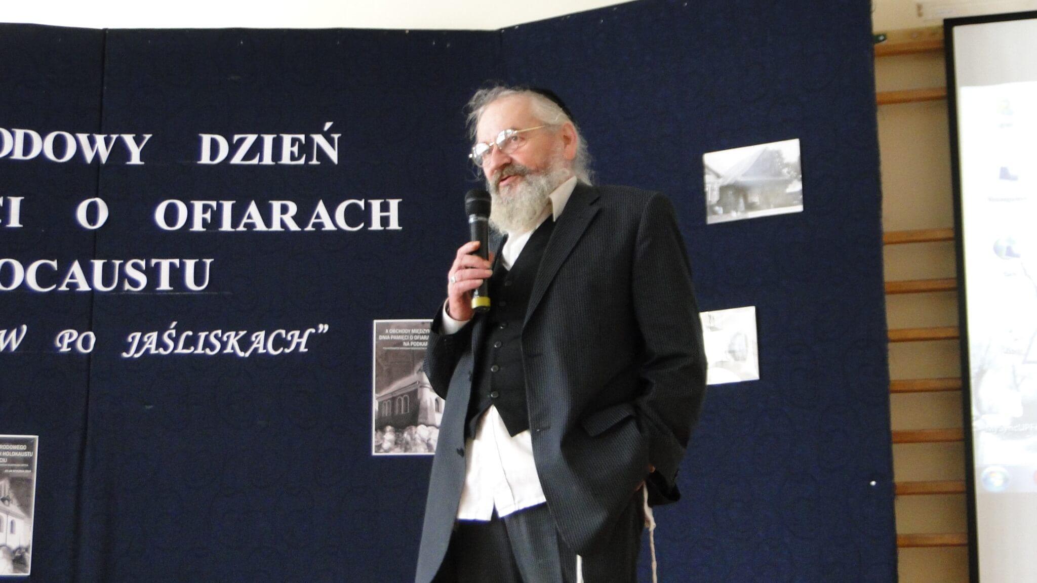 X Międzynarodowy Dzień Pamięci oOfiarach Holokaustu wJaśliskach 1