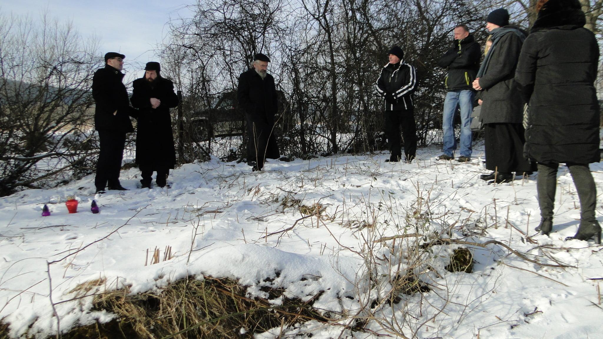 X Międzynarodowy Dzień Pamięci oOfiarach Holokaustu wJaśliskach 4