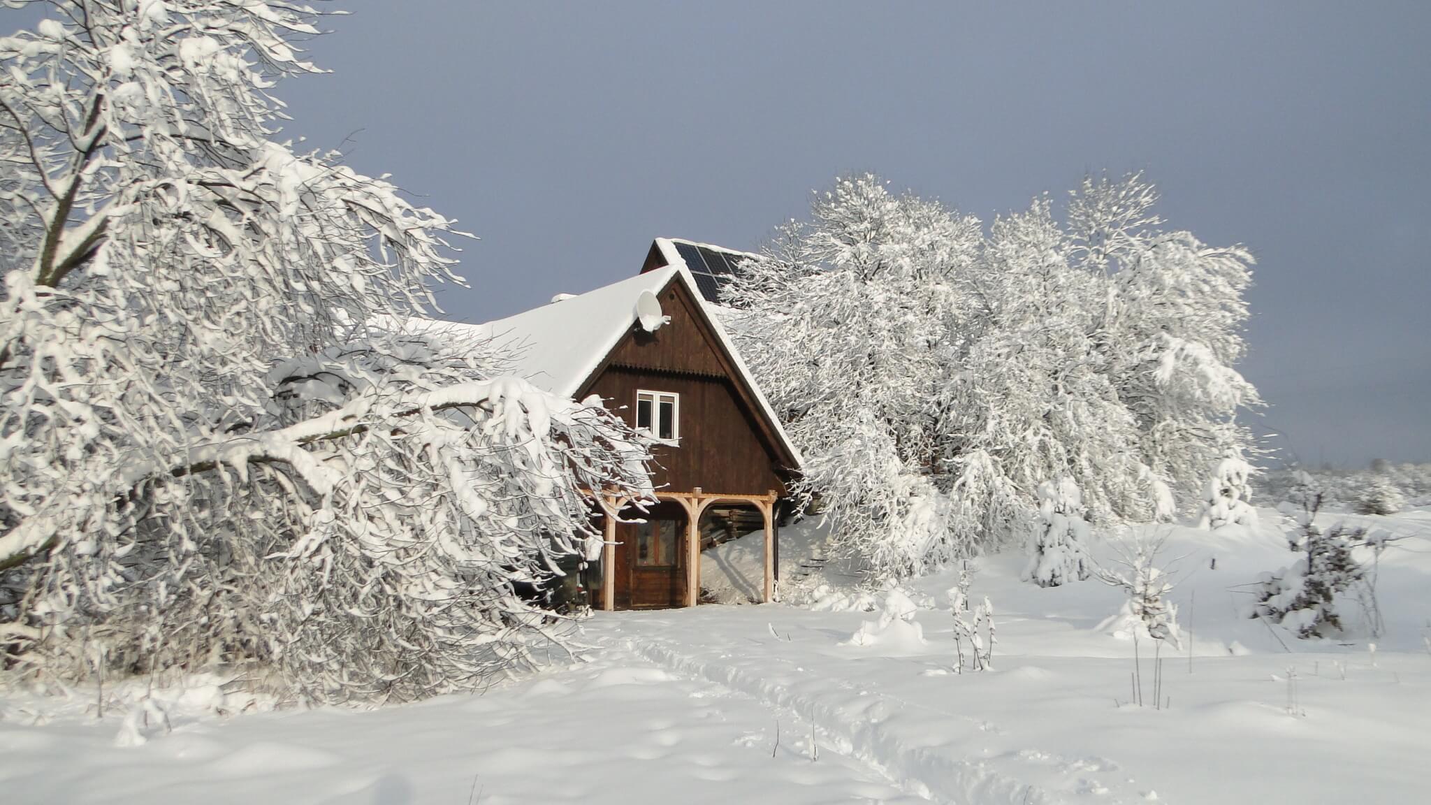 Lutowa zima - śnieżna imroźna 3