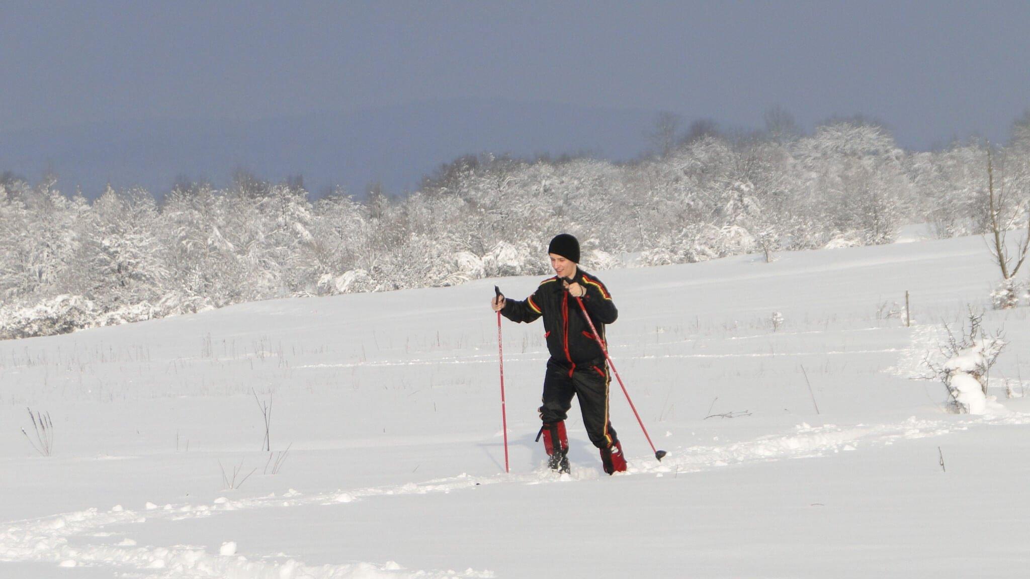 Lutowa zima - śnieżna imroźna 4