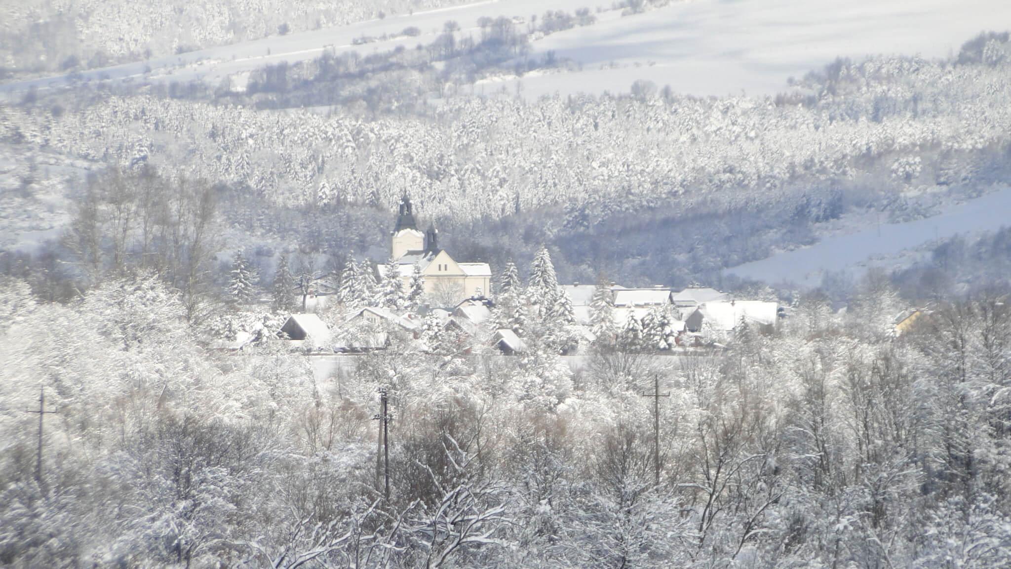 Lutowa zima - śnieżna imroźna 5