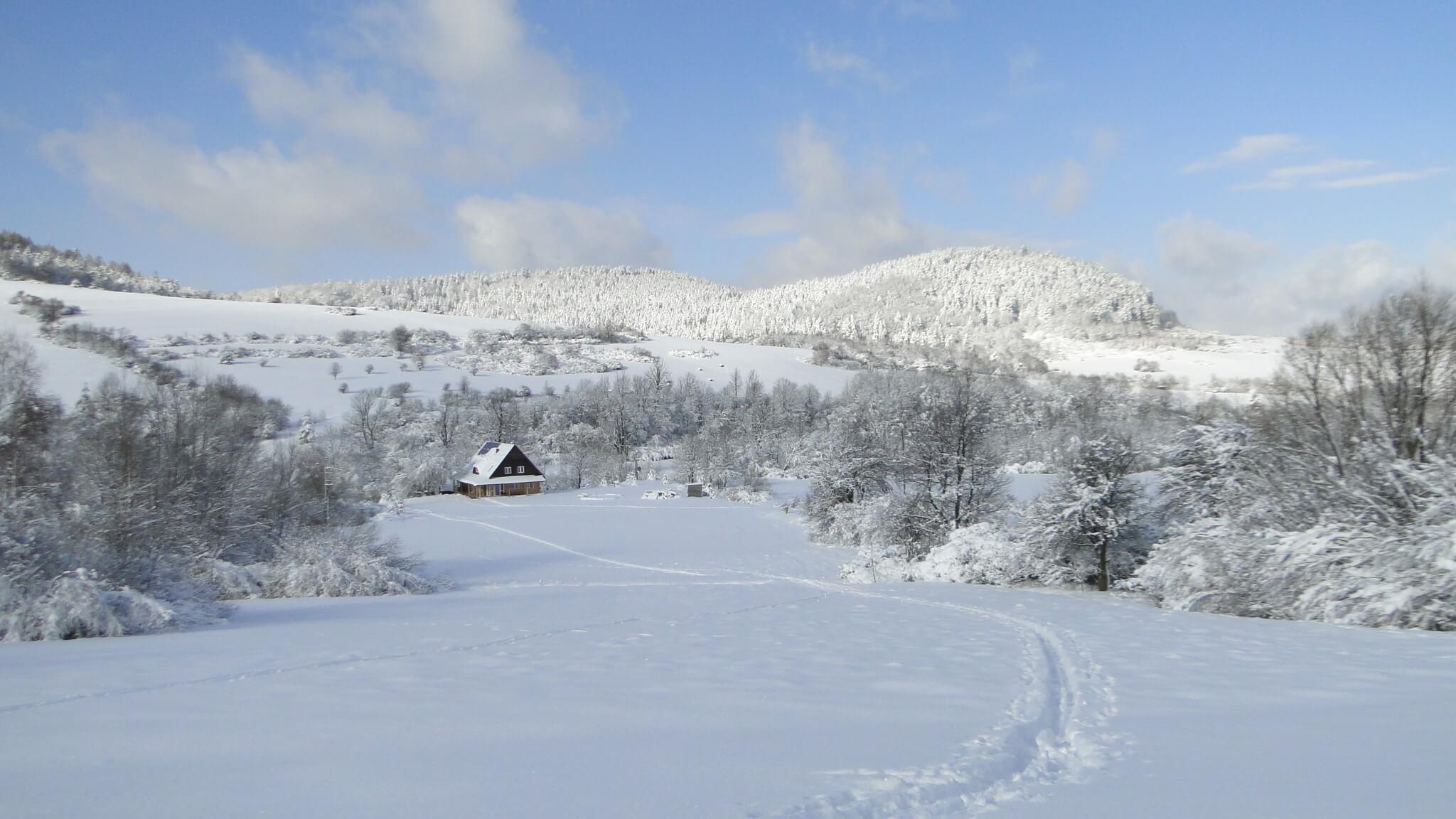 Lutowa zima - śnieżna imroźna 6