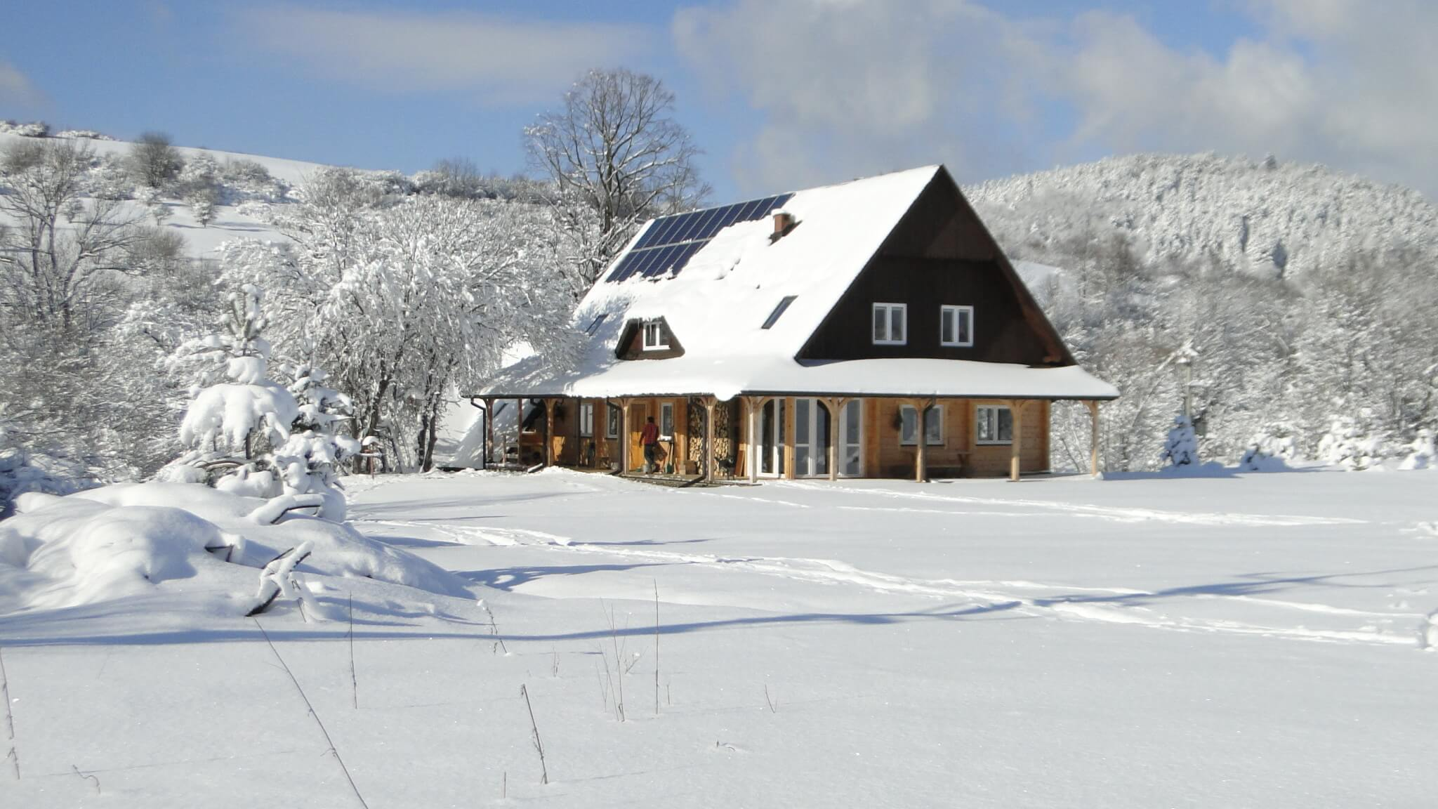 Lutowa zima - śnieżna i mroźna 8