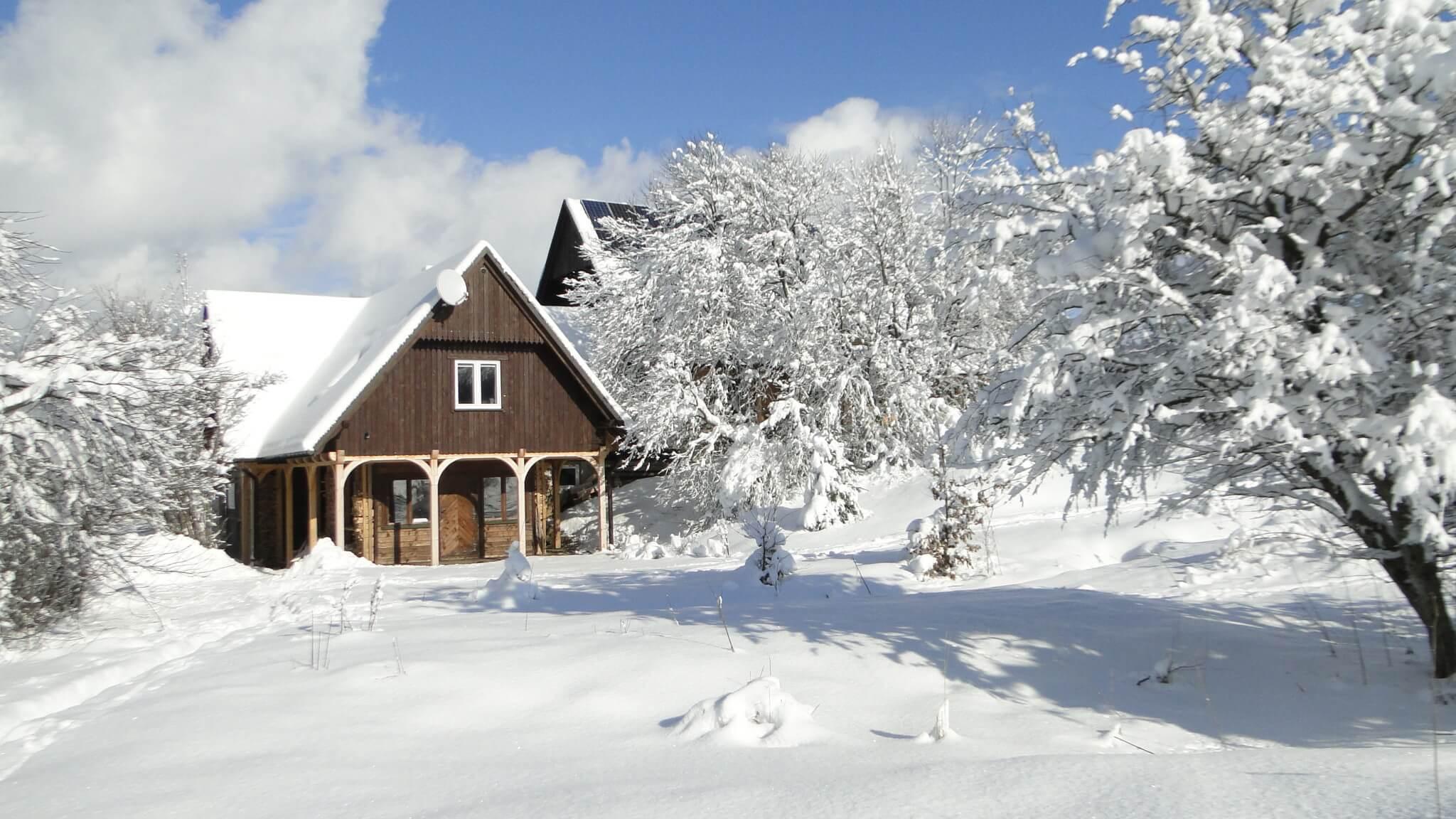 Lutowa zima - śnieżna imroźna 9