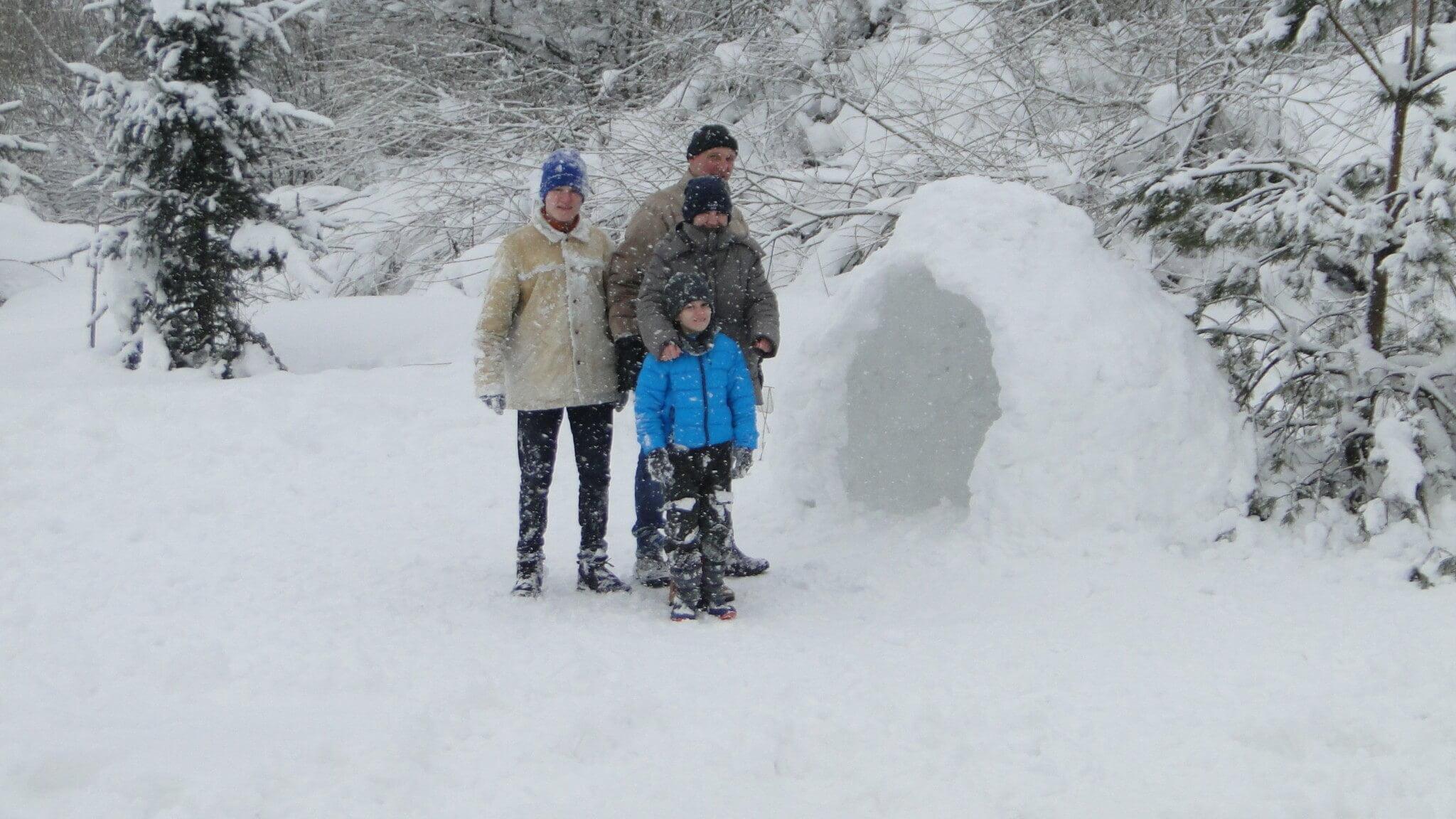 Lutowa zima - śnieżna i mroźna 16