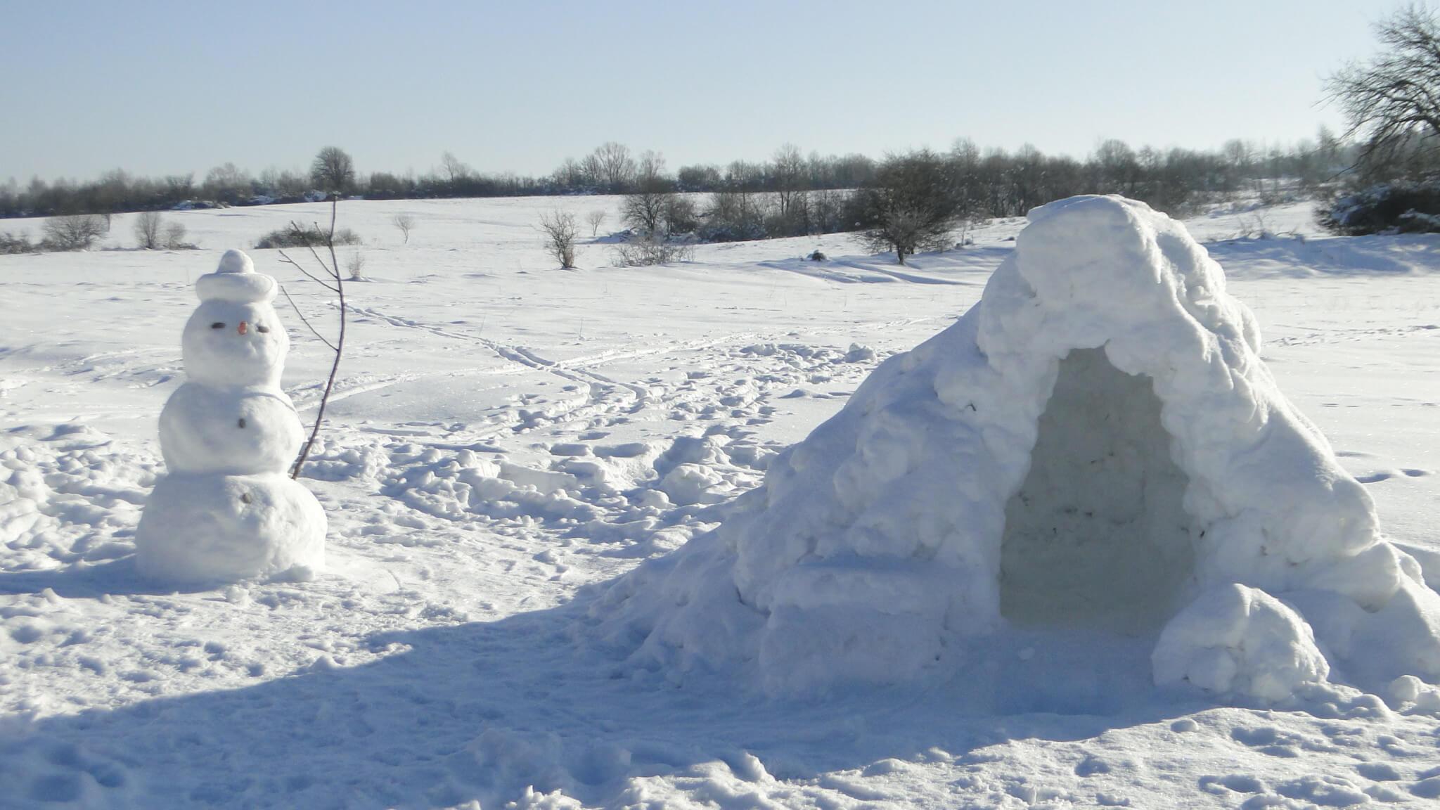 Lutowa zima - śnieżna i mroźna 18