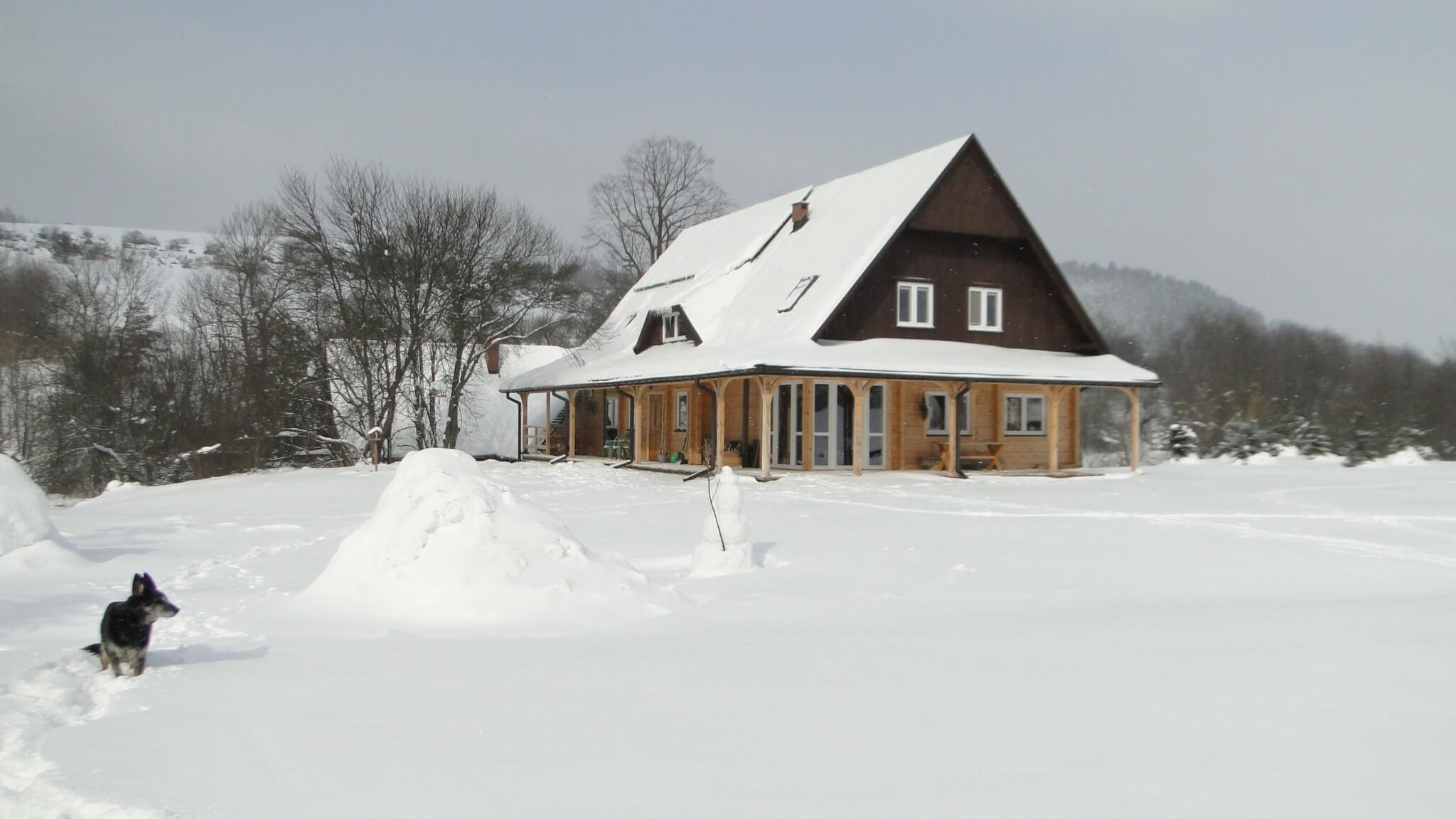 Lutowa zima - śnieżna i mroźna 25