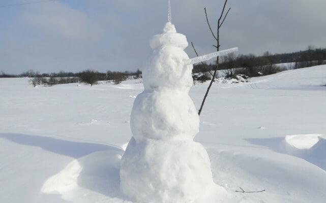 Lutowa zima - śnieżna i mroźna 28
