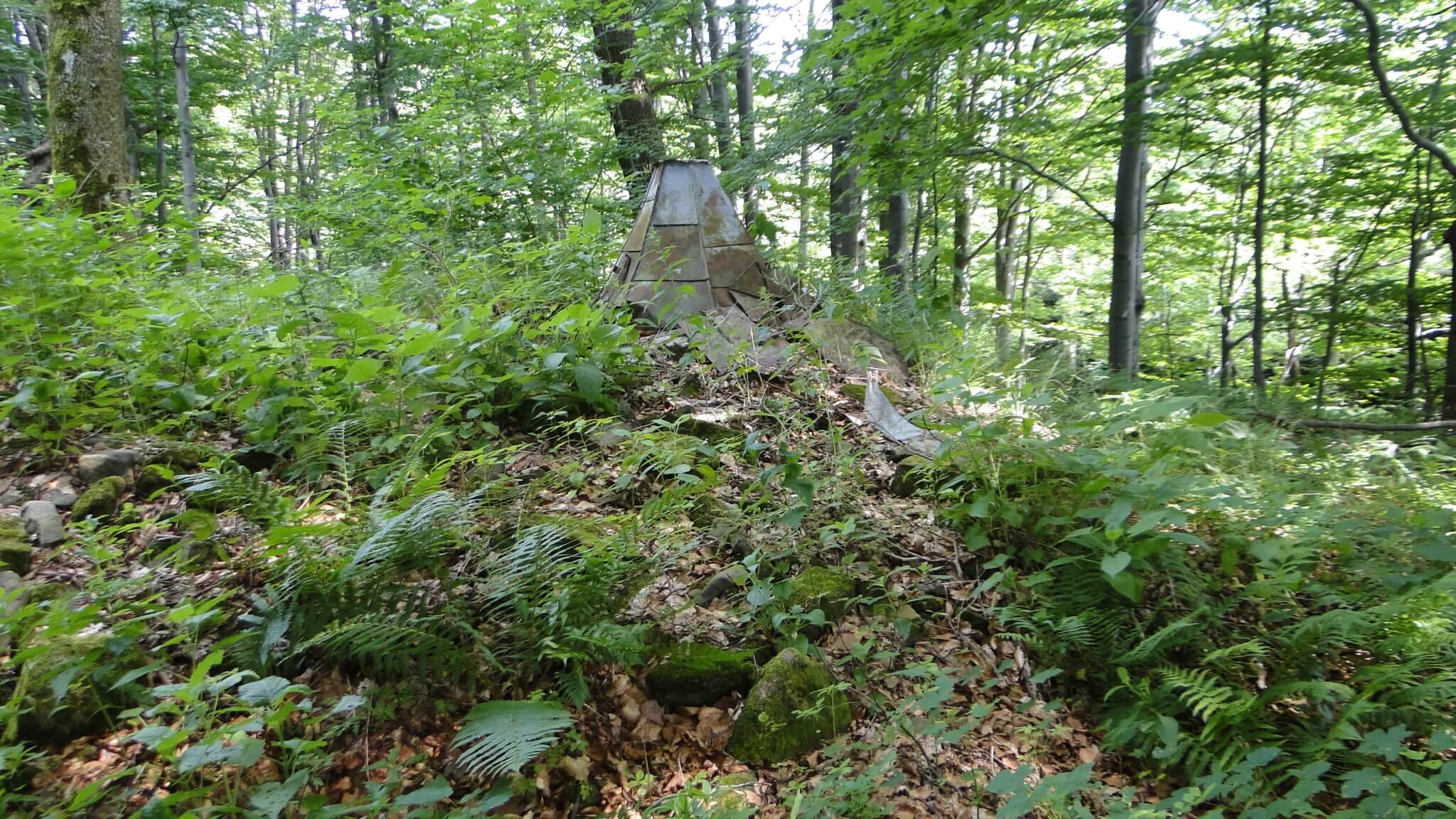 Zapomniane cerkwiska w Woli Wyżnej i Rudawce Jaśliskiej 5