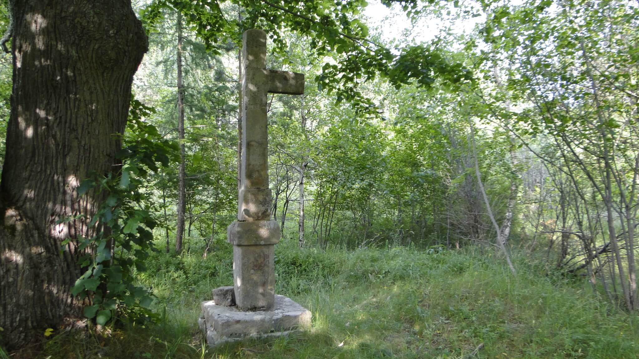 Zapomniane cerkwiska wWoli Wyżnej iRudawce Jaśliskiej 9