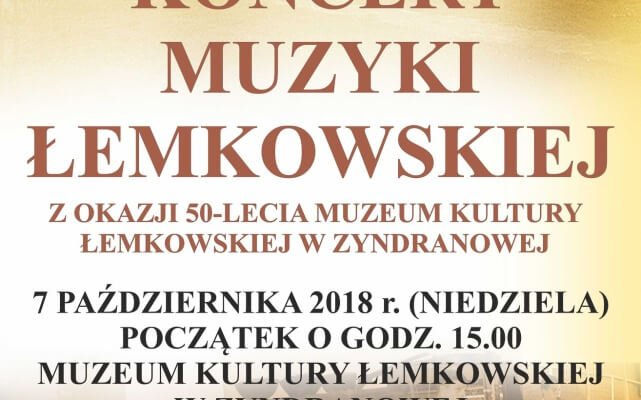 Koncert muzyki łemkowskiej