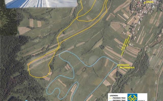 Trasy do narciarstwa biegowego na stokach Kamarki