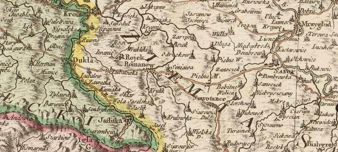 Historyczna ciekawostka czyli Jaśliska wZiemi Krakowskiej