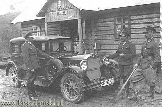 Straż Graniczna przed 1939 r. 1