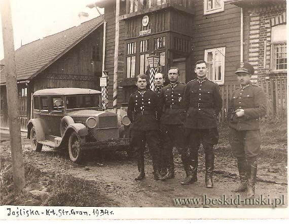 Straż Graniczna przed1939 r. 2