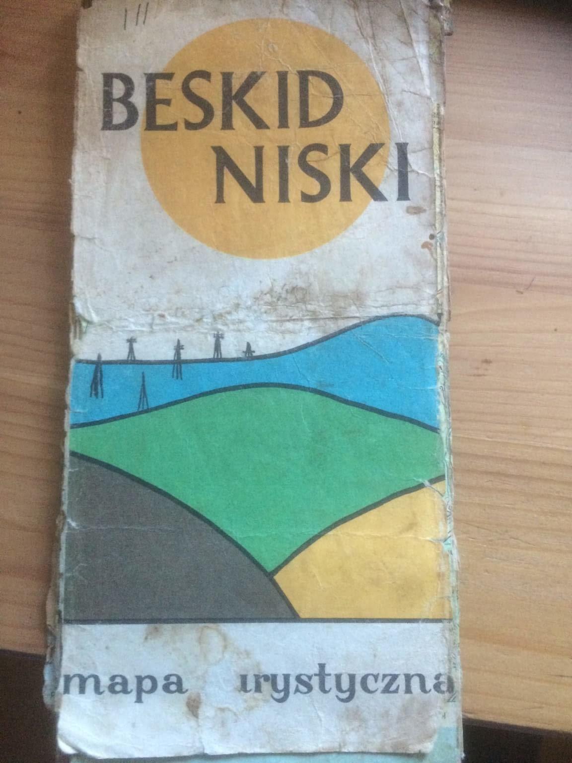 Mapy Beskidu Niskiego: stare i całkiem nowe 1