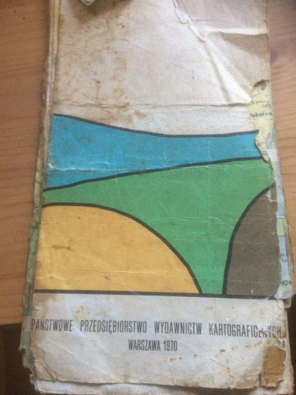 Mapy Beskidu Niskiego: stare i całkiem nowe 2