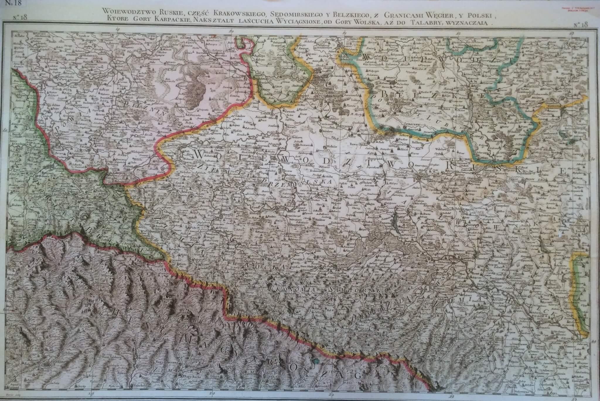 Czar starych map...