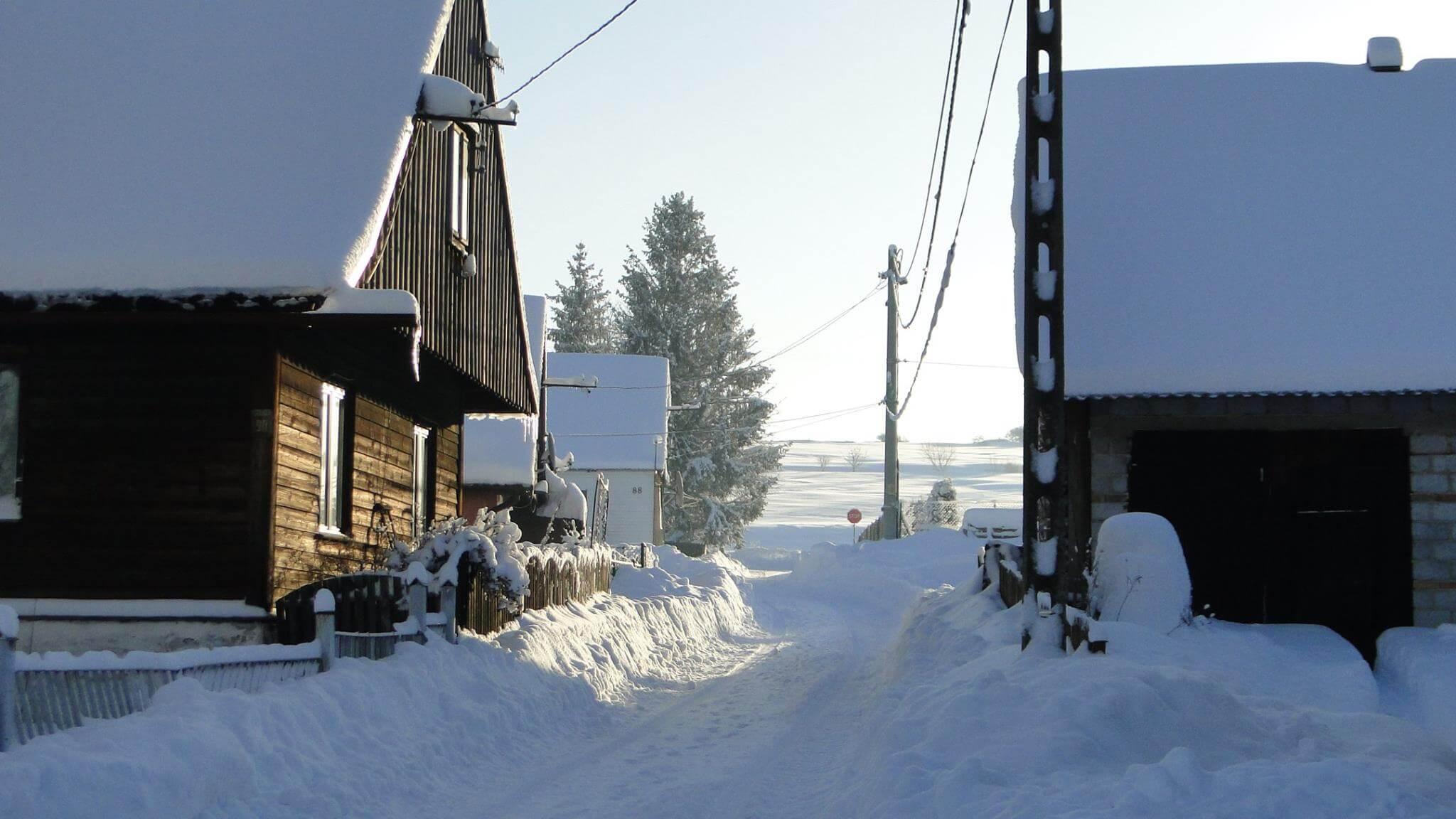 Jaśliska zima 4