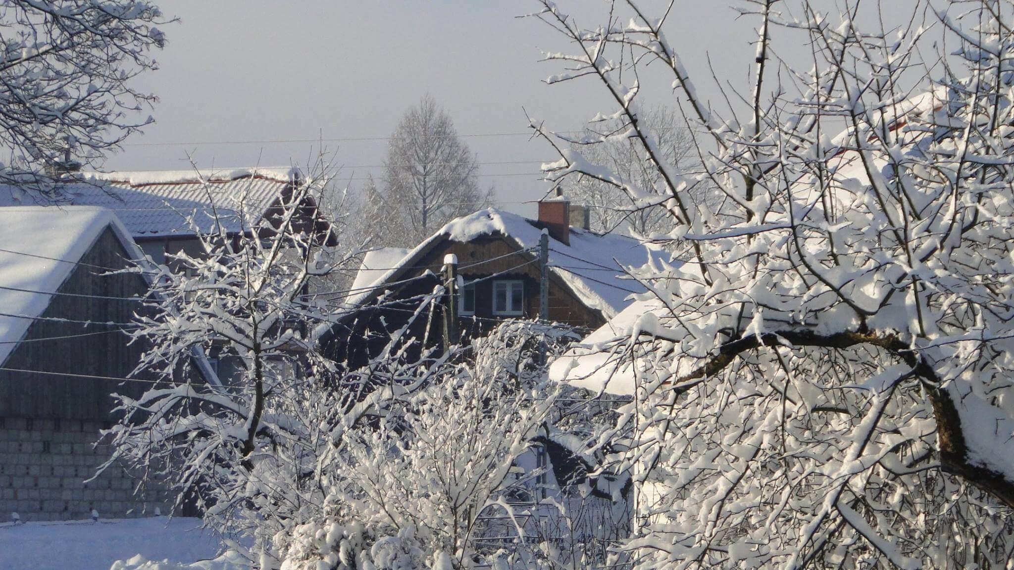 Jaśliska zima 5