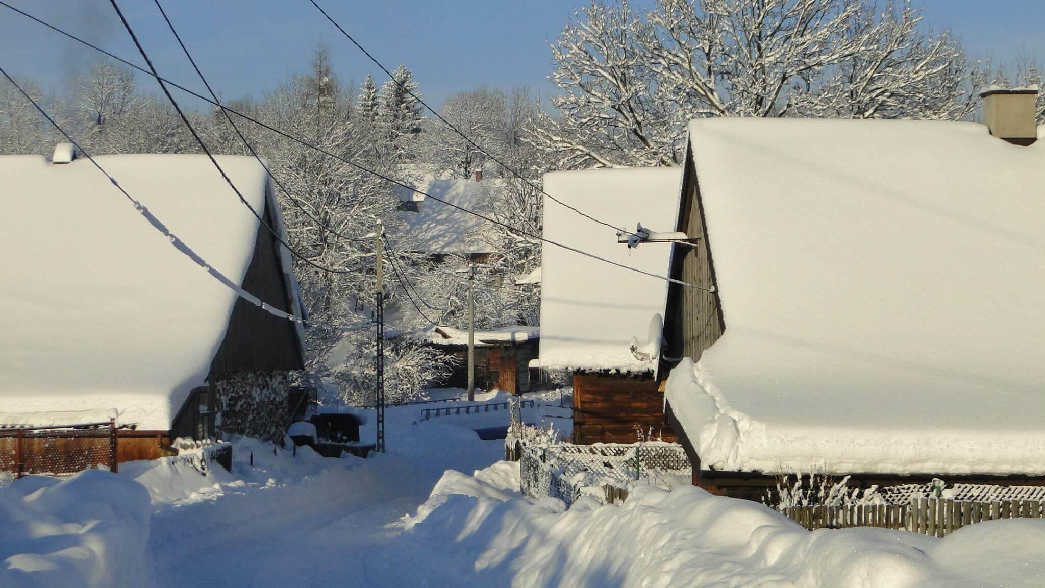 Jaśliska zima 7