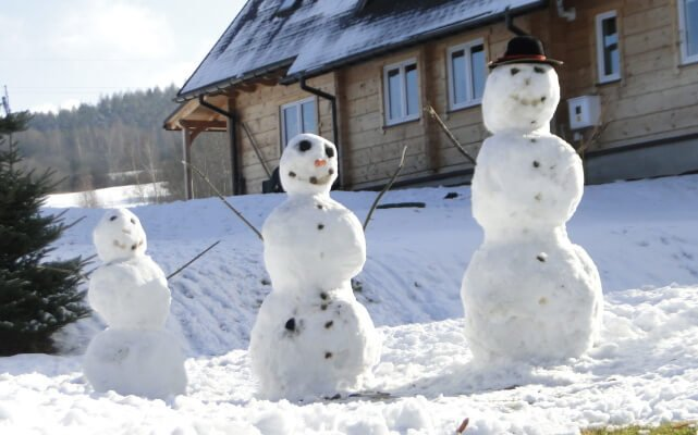 Ferie bez śniegowego bałwanka? Ani rusz! 1