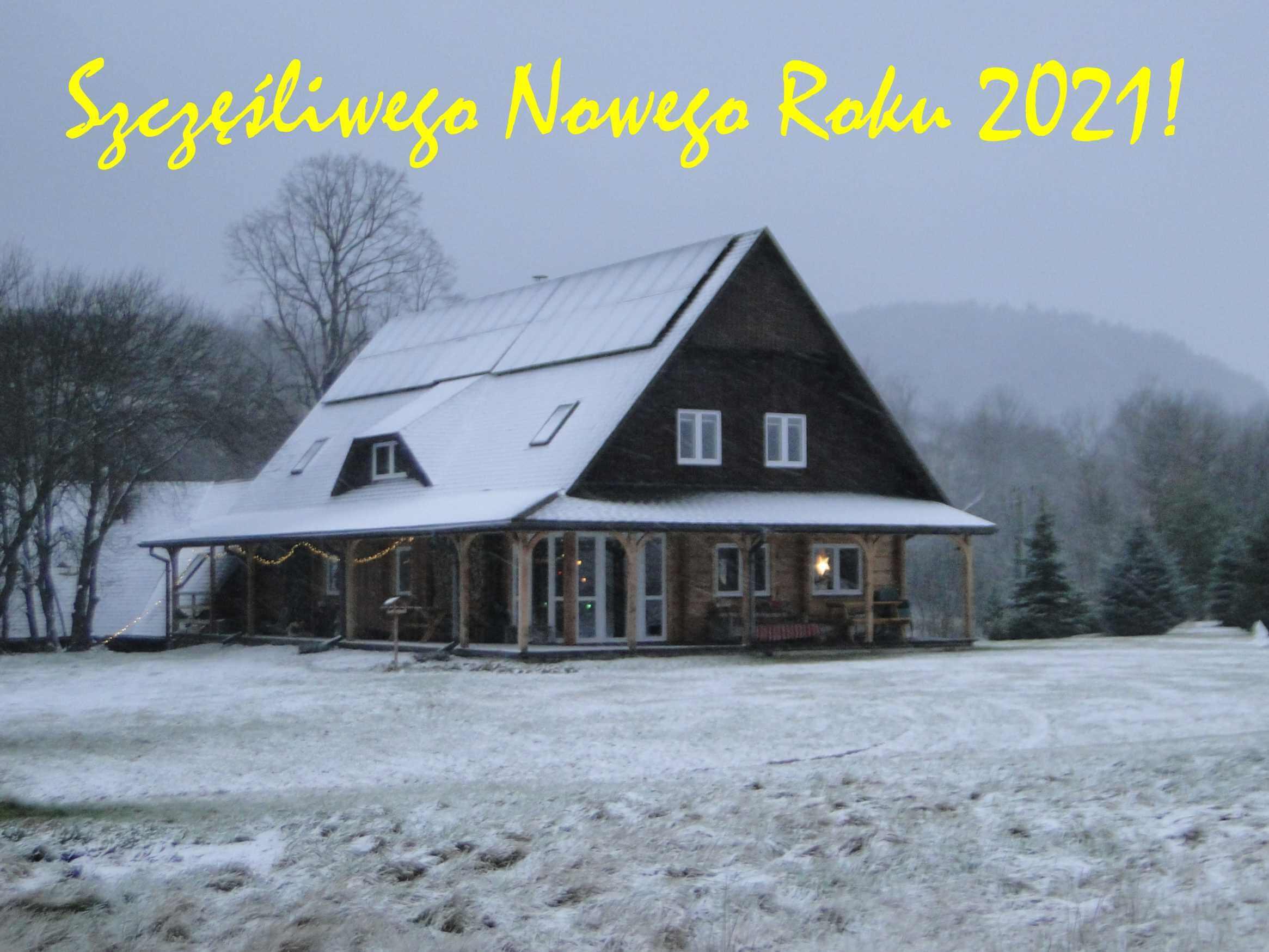 Życzenia naNowy Rok 2021