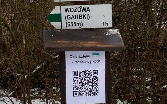 Zeskanuj kod QR po opis naszego szlaku 2